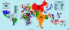 Աշխարհի քարտեզը ըստ բնակչության թվի 2014թ. տվյալներով (ինֆոգրաֆիկա)