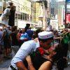 Ֆլեշմոբ. համբույր Թայմ Սքվերում (լուսանկարներ)