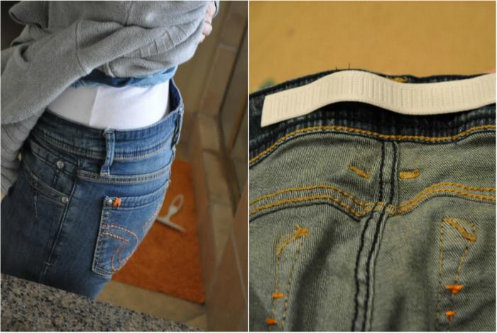 Как сшить пояс на джинсах 61